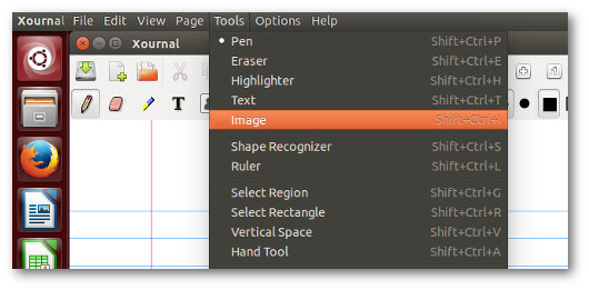 Schermata del programma per firmare PDF su Linux