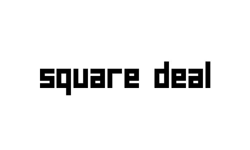 Anteprima del font Square Deal