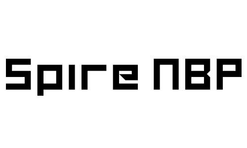 Anteprima del font Spire NBP