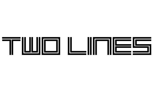 Anteprima del font 2 Lines