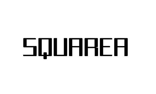 Anteprima del font Squarea