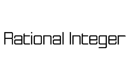 Anteprima del font Rational Integer