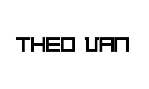 Anteprima del font Theo Van Doesburg