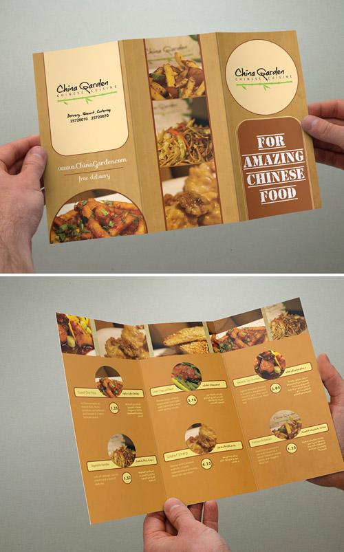 Esempio di menù per ristoranti n.8