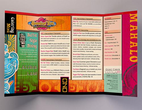 Esempio di menù per ristoranti n.10