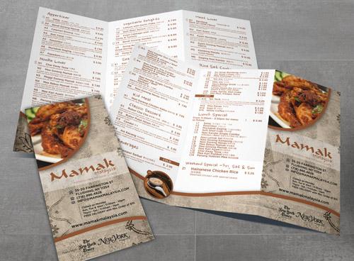 Esempio di menù per ristoranti n.15