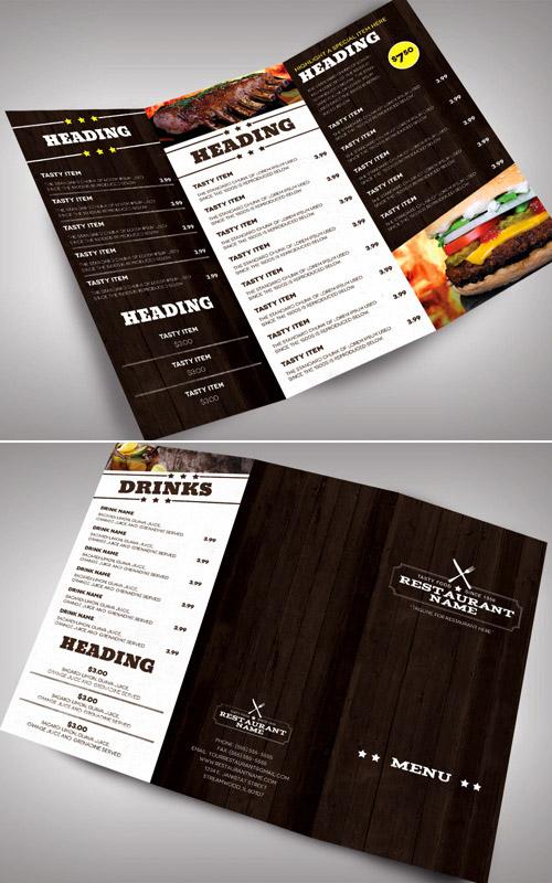 Esempio di menù per ristoranti n.19