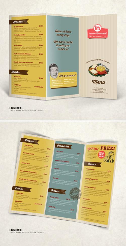 Esempio di menù per ristoranti n.20
