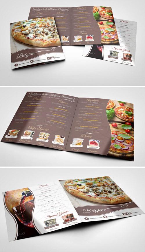 Esempio di menù per ristoranti n.26