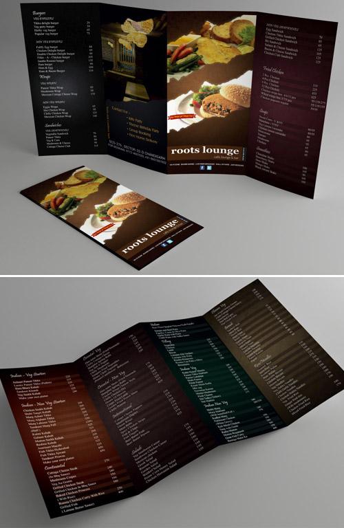Esempio di menù per ristoranti n.27