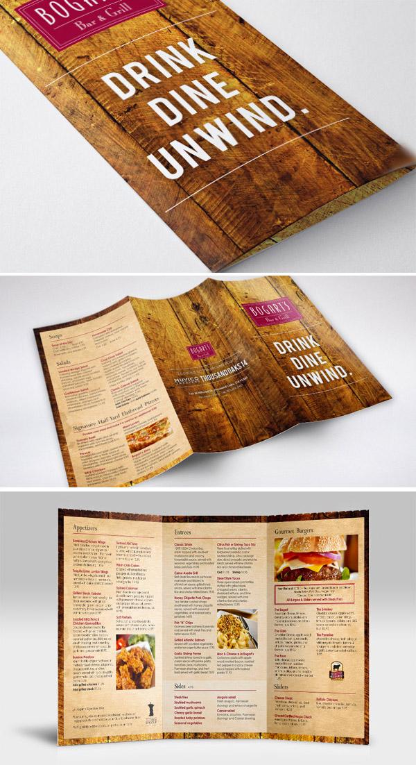 Esempio di menù per ristoranti n.28