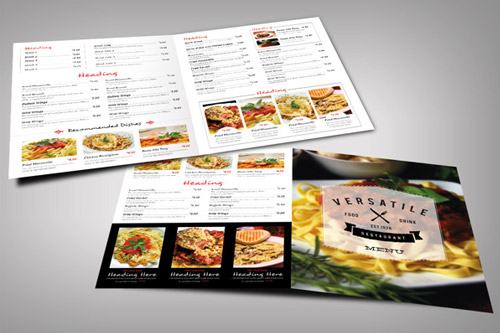 Esempio di menù per ristoranti n.29