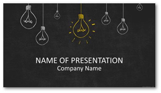 Immagine di un template PowerPoint del sito TemplatesWise