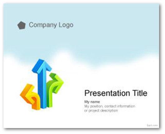 Immagine di un template PowerPoint del sito FPPT