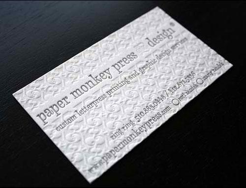 Immagine del biglietto da visita bianco n°22