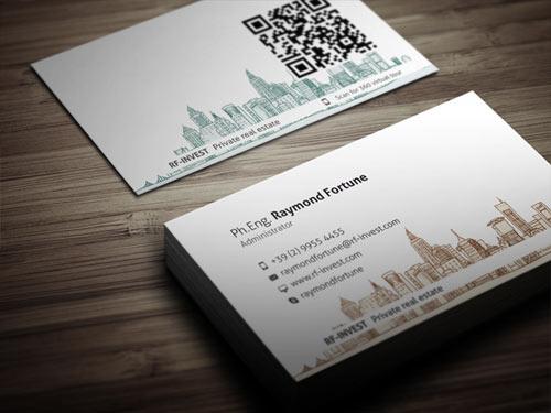 Immagine del biglietto da visita per agenti immobiliari n.3