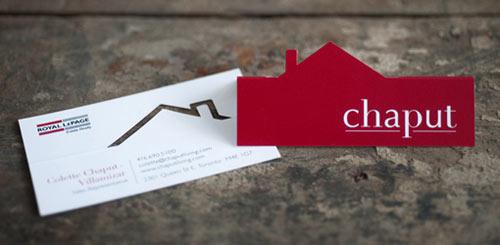 Immagine del biglietto da visita per agenti immobiliari n.4