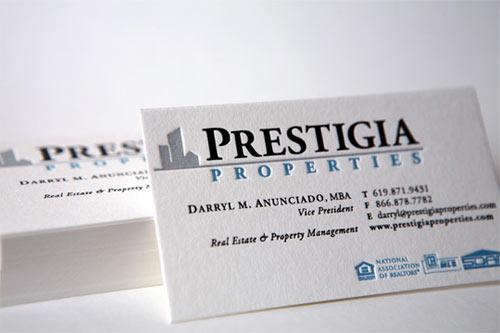 Immagine del biglietto da visita per agenti immobiliari n.12