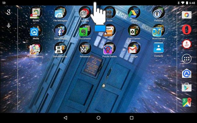 Secondo metodo per cambiare lo sfondo di Android