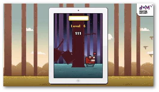 Immagine del gioco Timberman