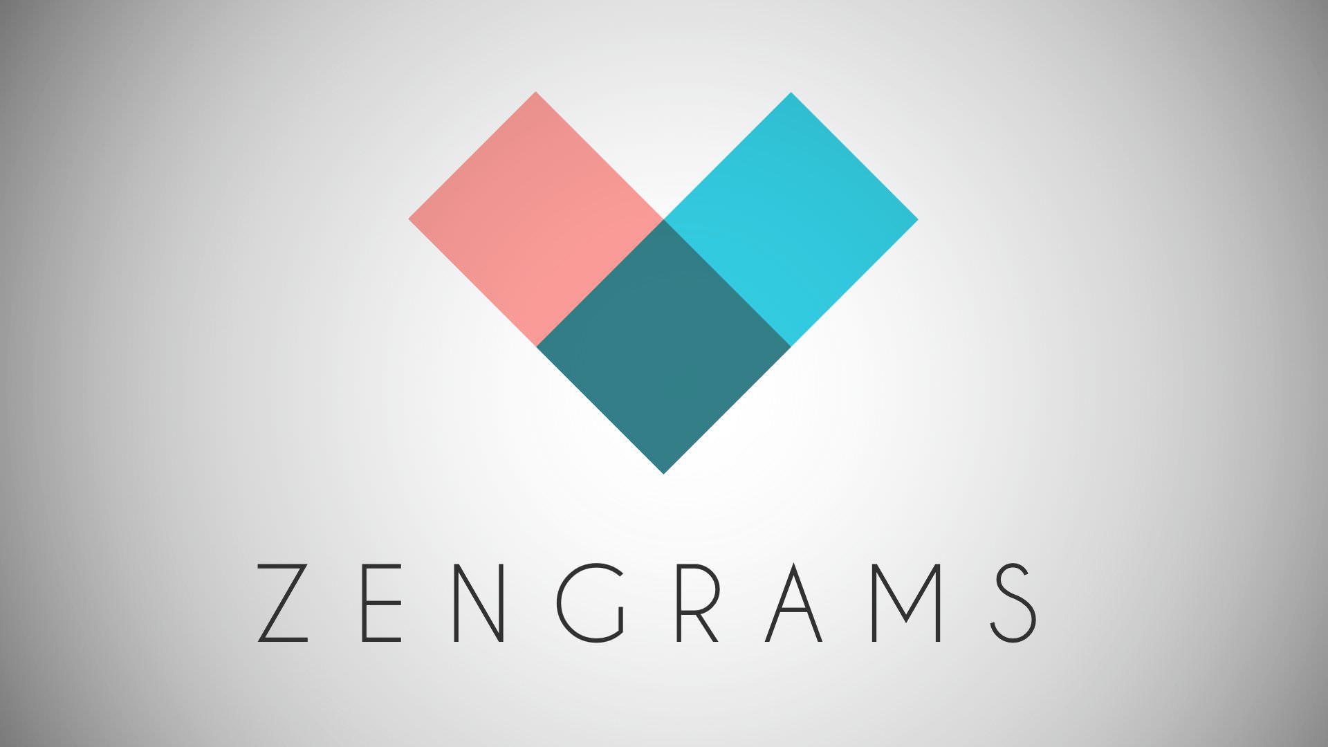 Schermata del gioco Zengrams per iPhone e iPad