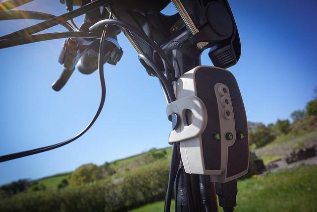 Caricatore per smartphone da bicicletta
