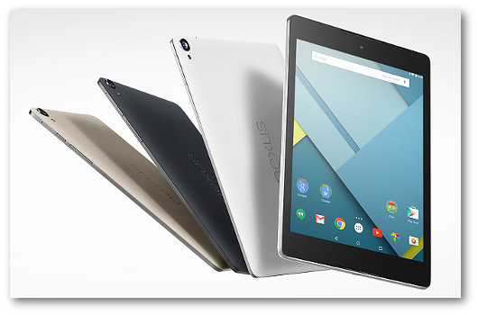 Immagine del tablet Nexus 7
