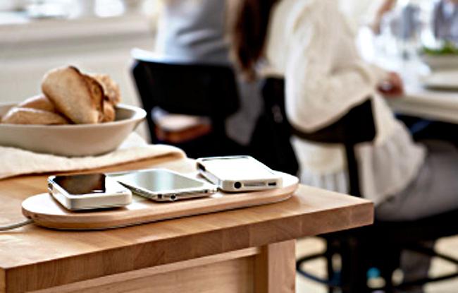 Smartphone che si ricaricano via wireless