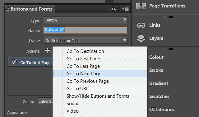 Inserire link interni nei PDF