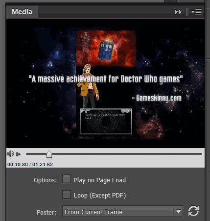 Inserire video e media nei PDF