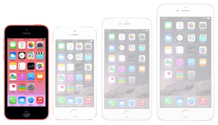 Immagine dell'iPhone 5C