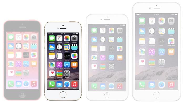 Immagine dell'iPhone 5S