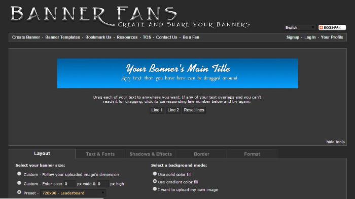 Immagine del sito BannerFans