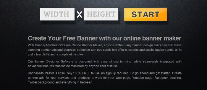 Immagine del sito Banner Ads Creator