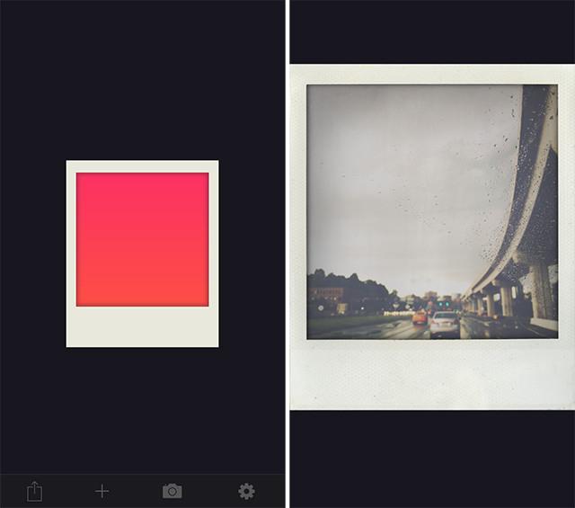 Schermate dell'app ShakeItPhoto per iPhone
