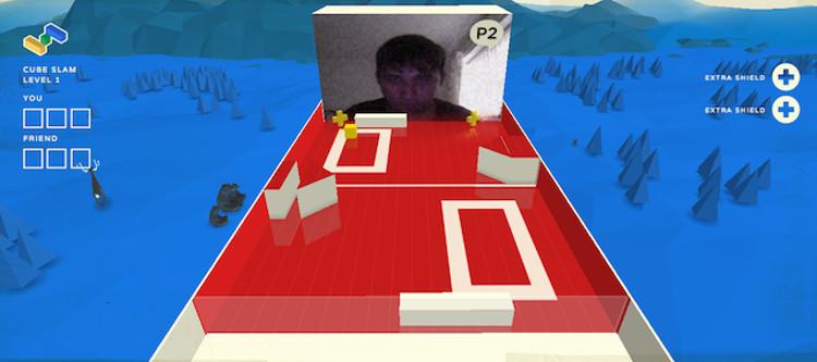 Schermata del gioco Cube Slam