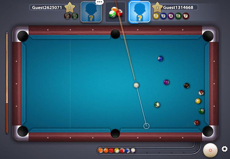 Schermata del gioco 8-Ball Pool