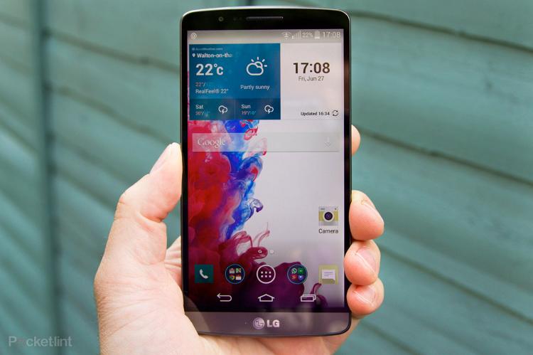 Immagine dello smartphone LG G3
