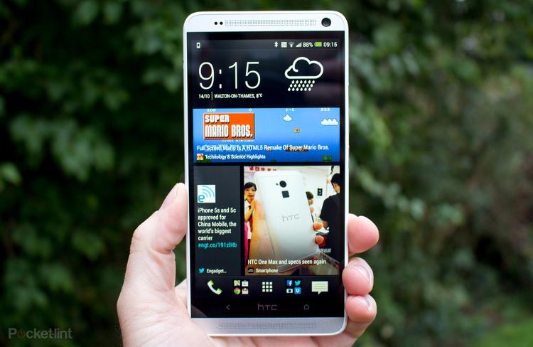 Immagine dello smartphone HTC One Max
