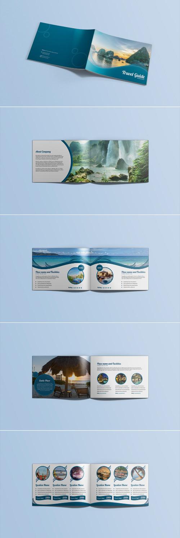 Primo esempio di brochure turistica o di viaggi