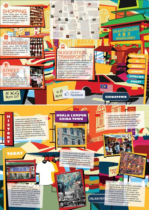Decimo esempio di brochure turistica o di viaggi