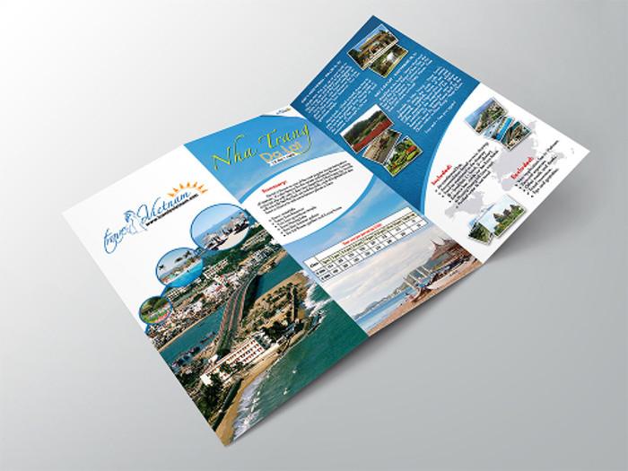 Favoloso 15 Esempi di Brochure Turistiche e di Viaggi | CreaGratis.com RM49
