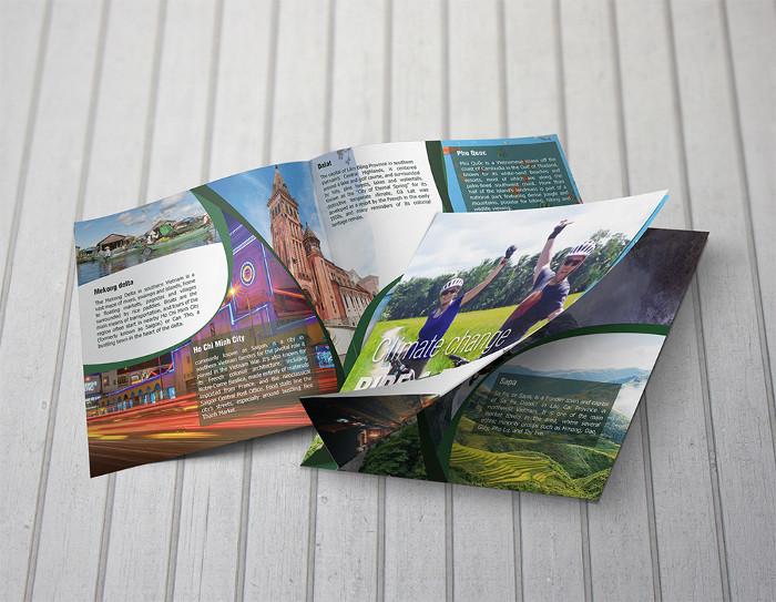 Tredicesimo esempio di brochure turistica o di viaggi