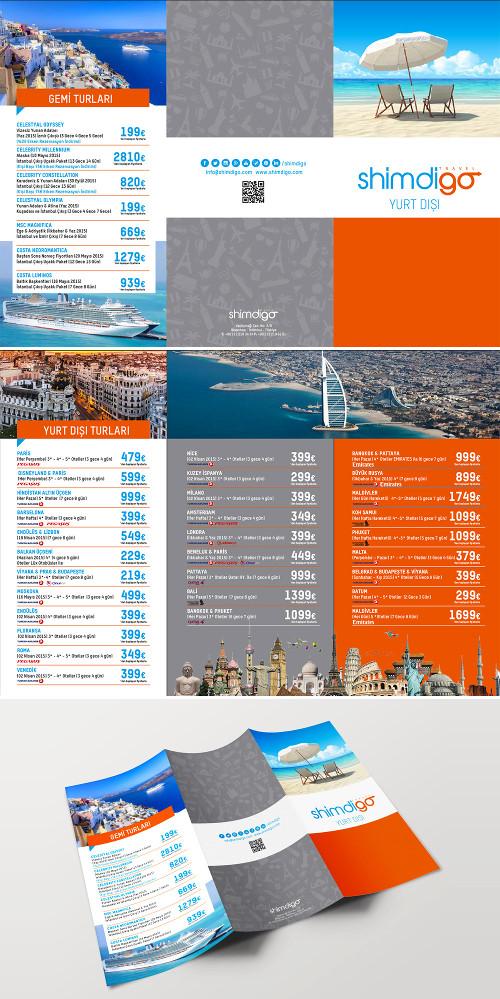 Amato 15 Esempi di Brochure Turistiche e di Viaggi | CreaGratis.com BH54