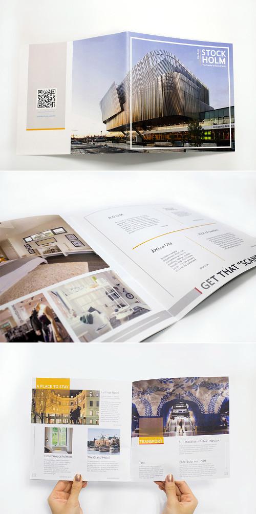 Secondo esempio di brochure turistica o di viaggi