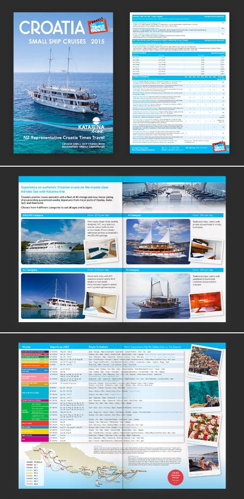Terzo esempio di brochure turistica o di viaggi