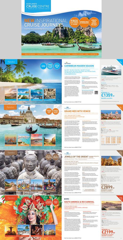 Quarto esempio di brochure turistica o di viaggi