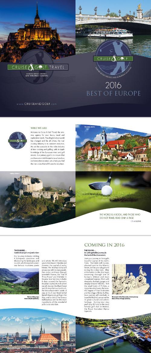 Quinto esempio di brochure turistica o di viaggi