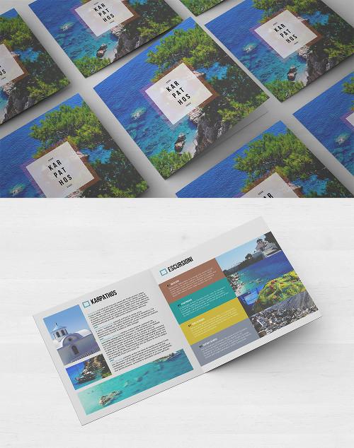Sesto esempio di brochure turistica o di viaggi