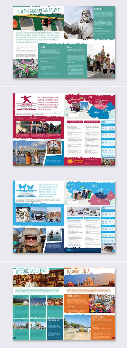 Settimo esempio di brochure turistica o di viaggi